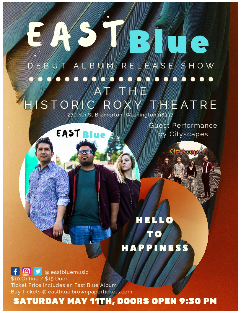 East Blue w/City Scapes at the Roxy!