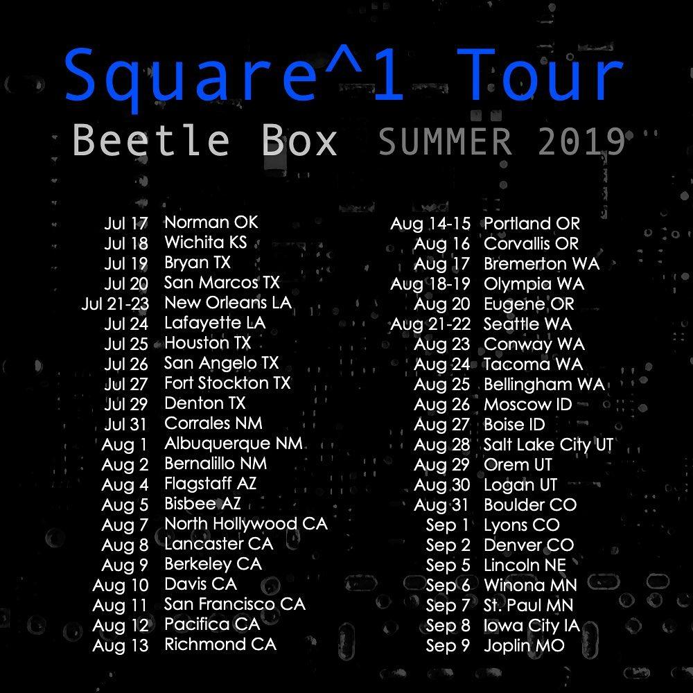 Beetle Box's Square^1 Tour