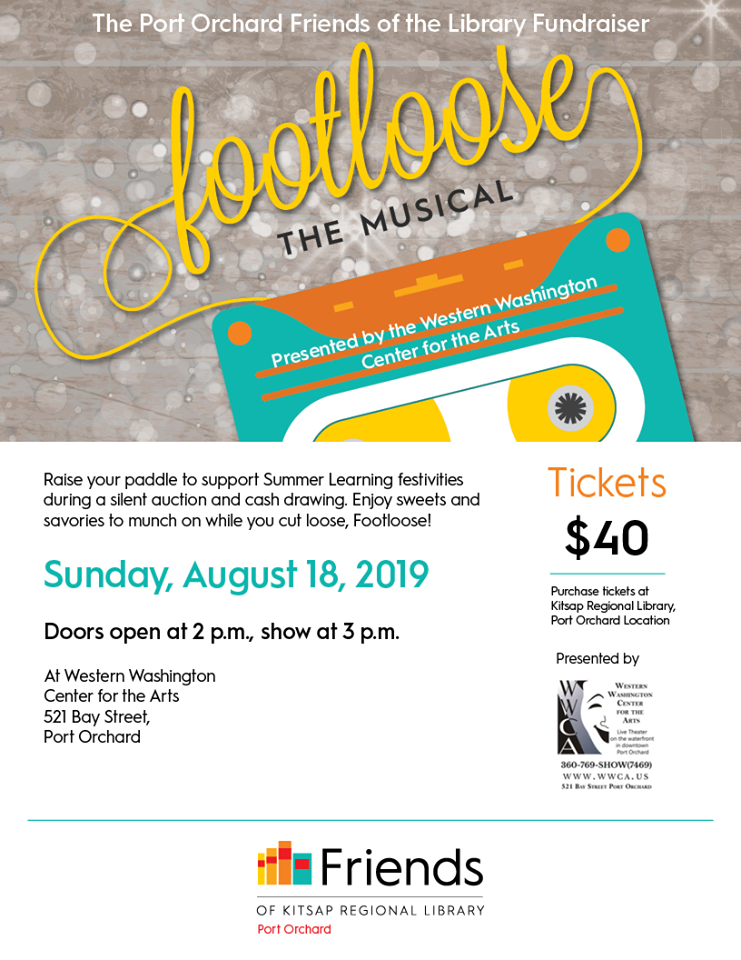 Port Orchard Friends of the Library Fundraiser