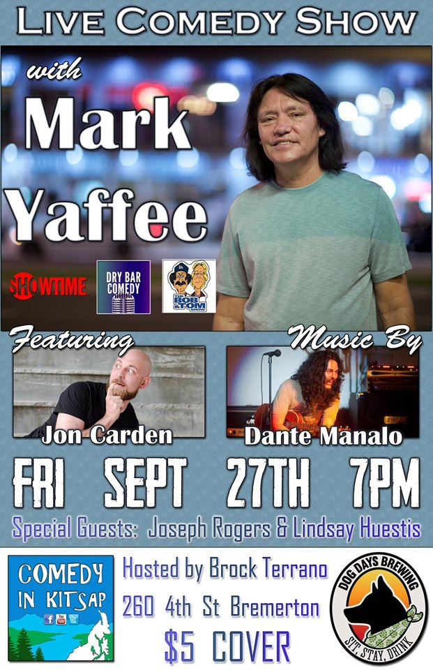 Live Comedy with Mark Yaffee
