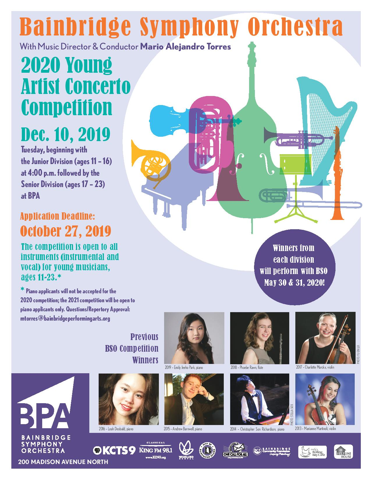 Young Artist Concerto Competition