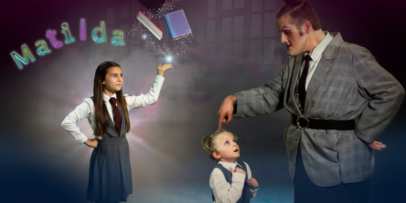 Photo of Roald Dahl's Matilda The Musical lights up BPA stage!